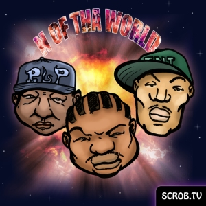 Artwork N Of Tha World (Mastamind, Esham and TNT of NATAS)