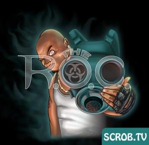 Digital Artwork of Detroit rapper The R.O.C. of Halfbreed and Krazee Klan