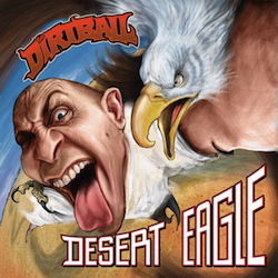 ... Painting: Cover of DESERT EAGLE by The Dirtball of Kottonmouth Kings
